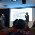 Thomas Feibel bei seinem Vortrag zur Medienkompetenz im Forum M in Aachen