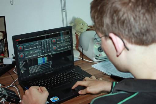 Daniel Schumacher ist DJ Hot   (c) Christian Danng-anh textass hold 'em