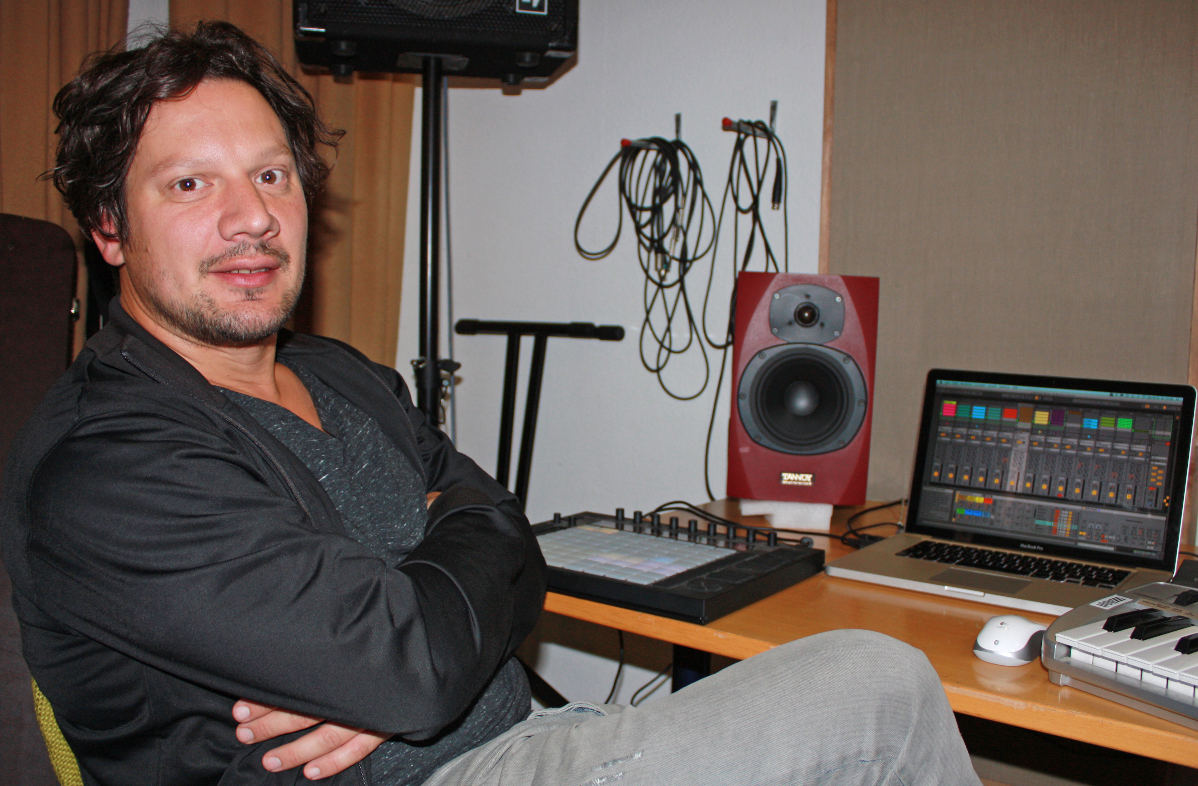 Thomas Palenberg Home Recording DJing (c) Christian Dang-anh