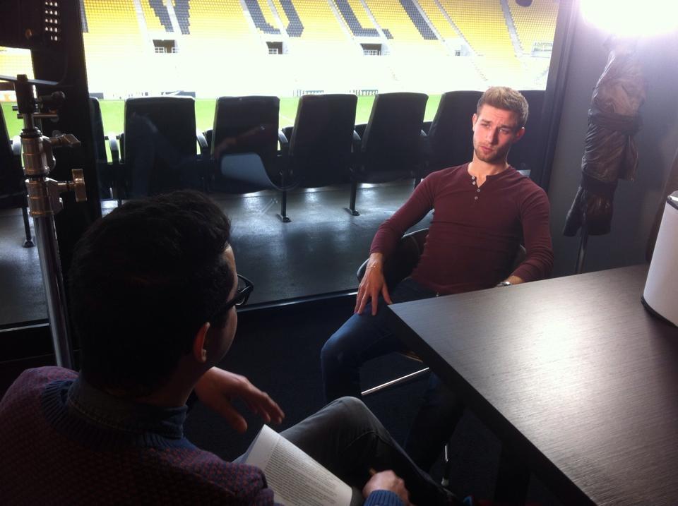 Alemannia Aachens Dennis Dowidat im Interview